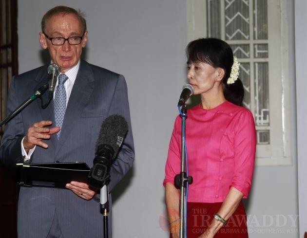 Myanmar Australia