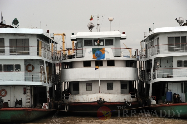Rangoon passenger ferries