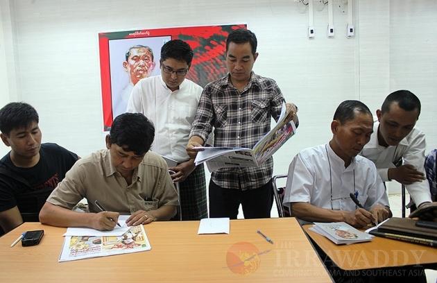 Ko Ko Gyi book signing