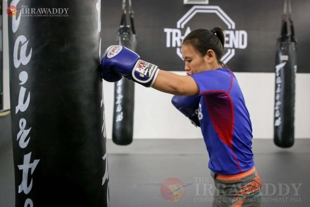 MMA fighter Antonia