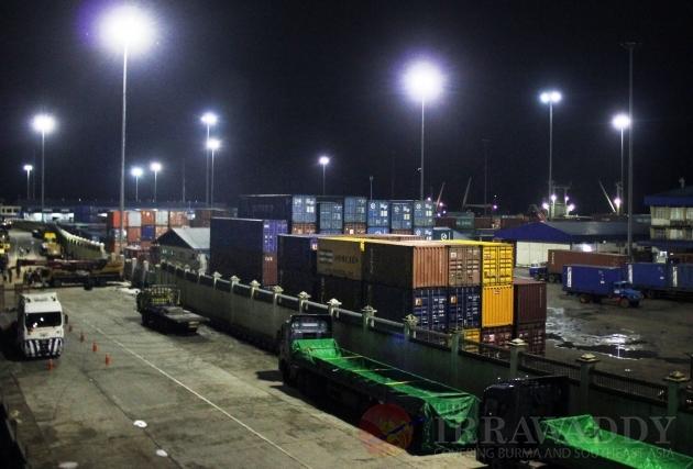 port scene