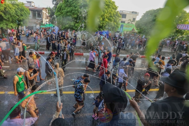 Thingyan Water Festival 2019