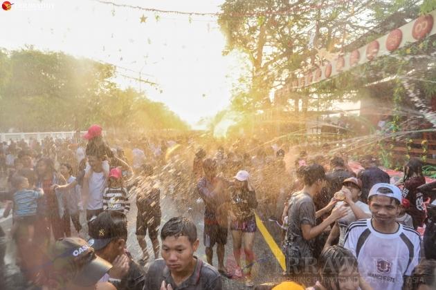 Thingyan Water Festival 2019