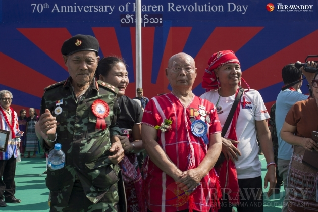 The 70th annual Karen Revolution Day