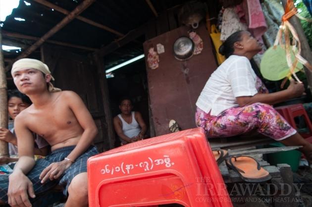 electric shock at Thingangyun