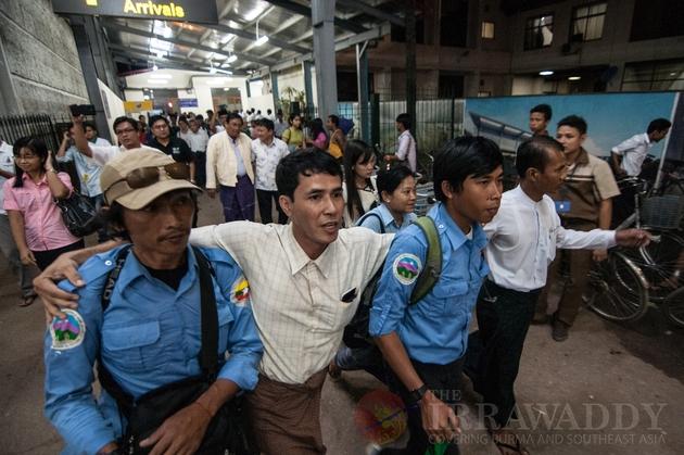 trekkers arrived back to Yangon