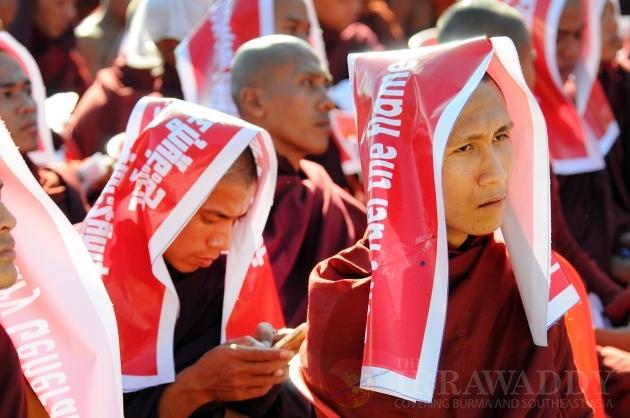 Anti Ban Ki-moon rally by Rakine nationalists