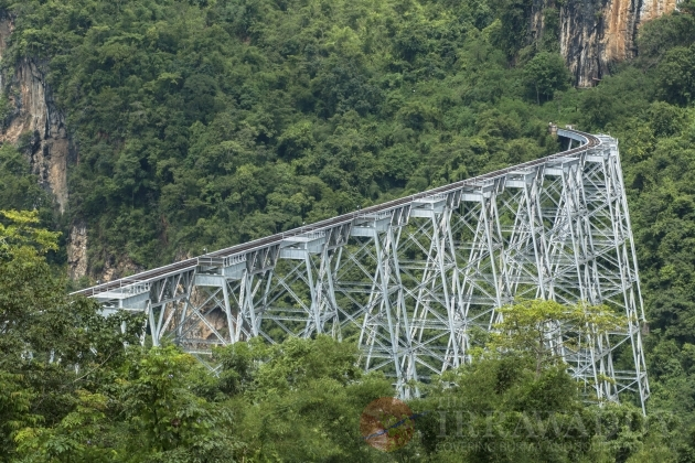 Goteik Viaduct and Mandalay-Lashio Trip