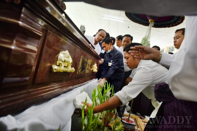 Aung Thaung cremation service