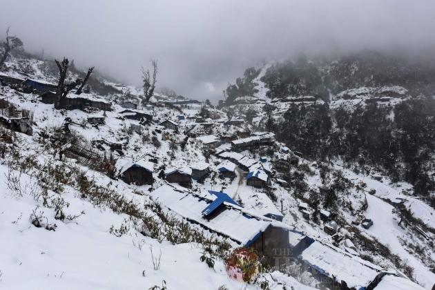 Frozen IDP Camp