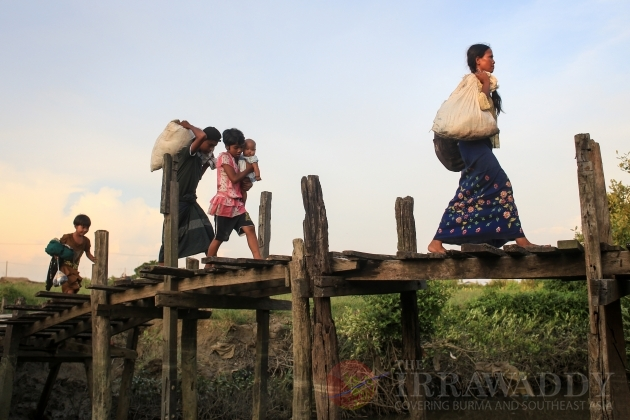 Maungdaw refugee in Sittwe