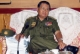 26-10-10 Senior-General Than Shwe delivers a speech at the cadet training concerning the infrastructure, schools, hospitals and bridges which including the rate of increasing at the celebrating.