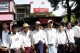NLD memberships was celebrating 90 years anniversary of National Day at NLD headquarters in Rangoon, Burma.