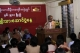 NLD was celebrating 90 years anniversary of National Day at NLD headquarters in Rangoon, Burma.