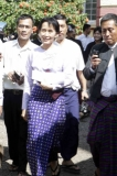 Pro-democracy leader Aung San Suu Kyi