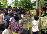 Flood victims need help from monastery in Bago division in Burma.