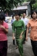 16-05-11 - Photo:- Irrawaddy Burma pro-democracy leader Aung San Suu Kyi arrives at a ceremony for a month course on journalism with her National League for Democracy party's youth members at the party's headquarters in Rangoon Burma. Over 50 members participated in the course.