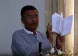 Requesting Policy conference was held at Rangoon, Burma.