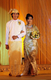 """11-06-11 - Photo:- The Irrawaddy Models in wedding clothes created by Burmese designers during the  """"Happiest Moment of Your Life"""" fashion parade at Traders Hotel in Rangoon, Burma."""