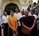 Aung San Suu kyi visits Bagan