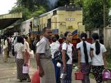 Myanmar commuter Train