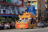 Buddha Tooth Relic arrive to Yangon