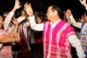 Aung Min, Minister of Railway and head of the negotiation group, dancing the Karen dance after the negotion talk, Pa-an, capital of the Karen State, Myanmar,Wednesday  11 January 2012.