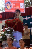 Daw Suu campaigns to Ah-Pyauk village, Kaw-Hmu Township, 20th Feb 2012.