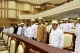Members of parliament attend a regular session of parliament of upper house and lower house at parliament buildings in Naypyitaw, Myanmar, Monday, April.23, 2012.