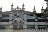Bengali Sunni Mosque in central Rangoon