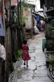 A child in Rangoon