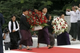 The Lady at Martyr's Mausoleum on Thursday, 19th July 2012, Yangon, Myanmar.