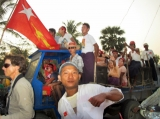 01-04-12 PHOTO - Kyaw Zwa Moe Burma- NLD party election campaign.