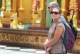 09-06-12 - PHOTO Jpaing tourists visit a temple in rangoon.