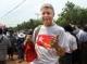 31-03-12 PHOTO Jpiang A foreign tourist in an NL t-shirt.