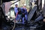 07-09-12 - Fire, rangoon - PHOTO - Jpaing Aftermath of a serious fire in Rangoon.