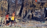 27-10-12 Rakhine conflict - PHOTO - Jpaing Victims of communal conflict in Rakhine State