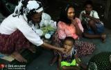 30-10-12 - Rakhine state conflict - PHOTO - Jpaing Bigali camp near Sitwe.