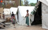 28-10-12 Rakhine conflict - PHOTO - Jpaing Victims of communal conflict in Rakhine State