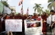 Monks protest at Sula Pagoda