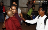 10-12-12 Gambira released - PHOTO - Jpaing Former monk, gambira, is released from detention