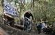 23-12-12 Mt Bike racing - PHOTO - Teza Hlaing Mountain bike racing on Mandalay Hill.