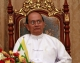 May.27, 2012, - PHOTO - Irrawaddy Myanmar President Thein Sein attends the signing ceremony of a Memorandum of Understanding (MoU) during meeting with Indian Prime Minister Dr.Manmonhan Singh, (not in photo), at presidential house in Naypyitaw, Myanmar.