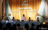 26-12-12 - Air Bagan crash - PHOTO - Jpaing Officials from air Bagan hold a press conference at Kandawgyi Palace Hotel after one of it's flights crashed on Christmas day, reportedly killing two people.