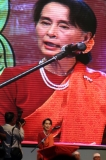 26-02-13  Tuesday February 26, 2013 national Mon Day Myanmar opposition leader Aung San Suu Kyi at National Mon Day celebrations in Yangon