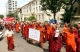 monks protest against Time magazine in central Yangon