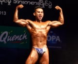 27-06-13 Photo Irrawaddy Myanmar Bodybuilders and Model Physique Contest held at Myanmar Convention Center Thursday, June.27, 2013, in Yangon, Myanmar.