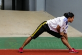 26-08-13 Photo Jpaing Athletes train for SEA games in 2013 in Burma
