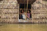 Flood water in Hlegu at the Yangon region of Myanmar.