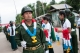 The Border Guard Force marched towards the ground where the 4th Anniversary was held  (Photo – Sai Zaw/ The Irrawaddy)